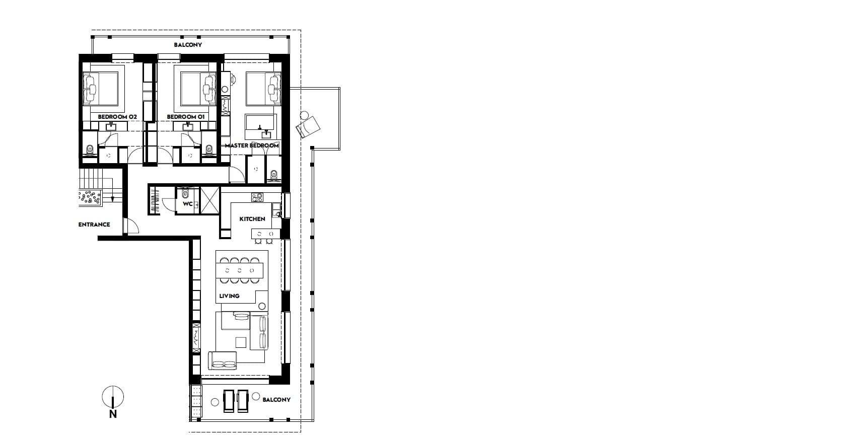 w residence 3 bedroom luxury ski chalets verbier oxford ski view floor plan