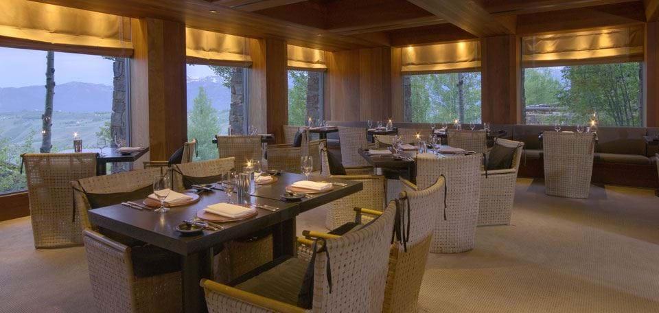 Great Continental Experience Grill Amangani Resort