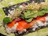 Sushi Burritos… The future of mountain energy food?