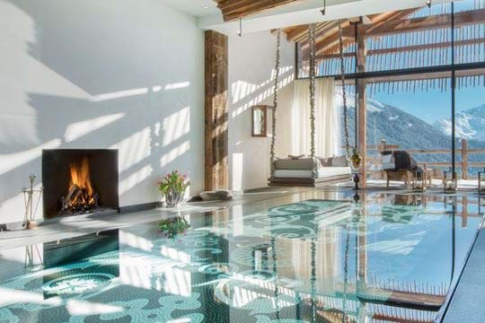 Luxury Ski Chalets with Swimming Pools - Top 5 - 2013/14