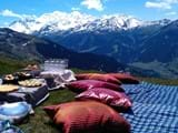 Paragliding and Mountain Biking at The Lodge, Verbier
