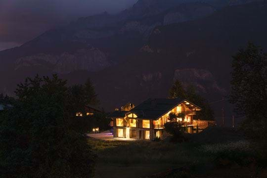 Quite possibly the coolest property in the Alps