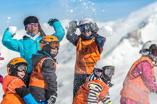 Best ski schools in Val d'Isere