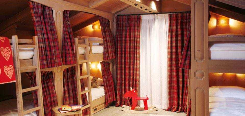 The most magical children's bedrooms in luxury chalets