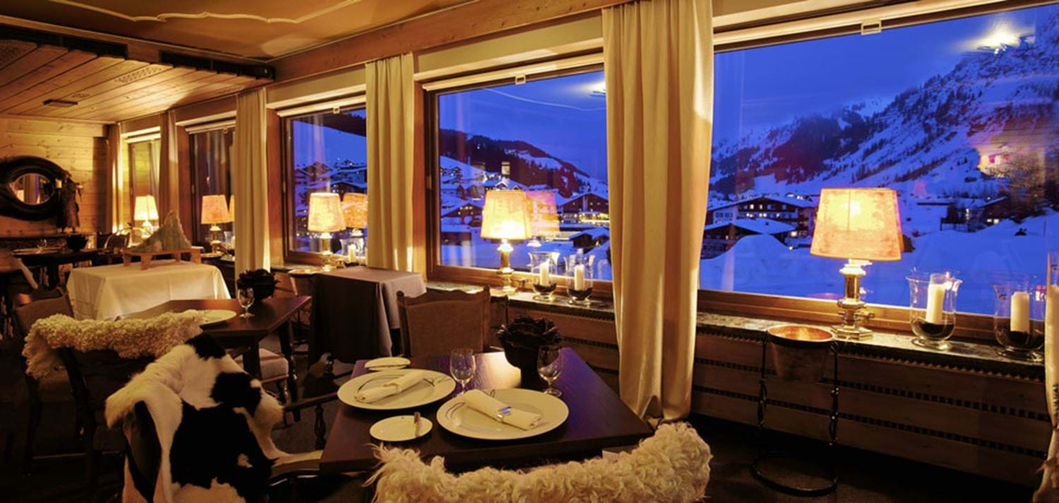 Hotel kristiania luxury ski hotel lech oxford ski for Luxury hotel oxford