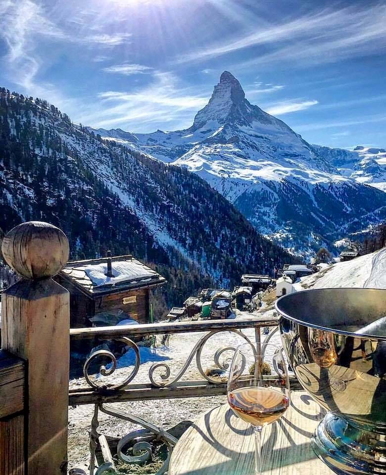 The Best Mountain Restaurants With A Terrace (And View!)