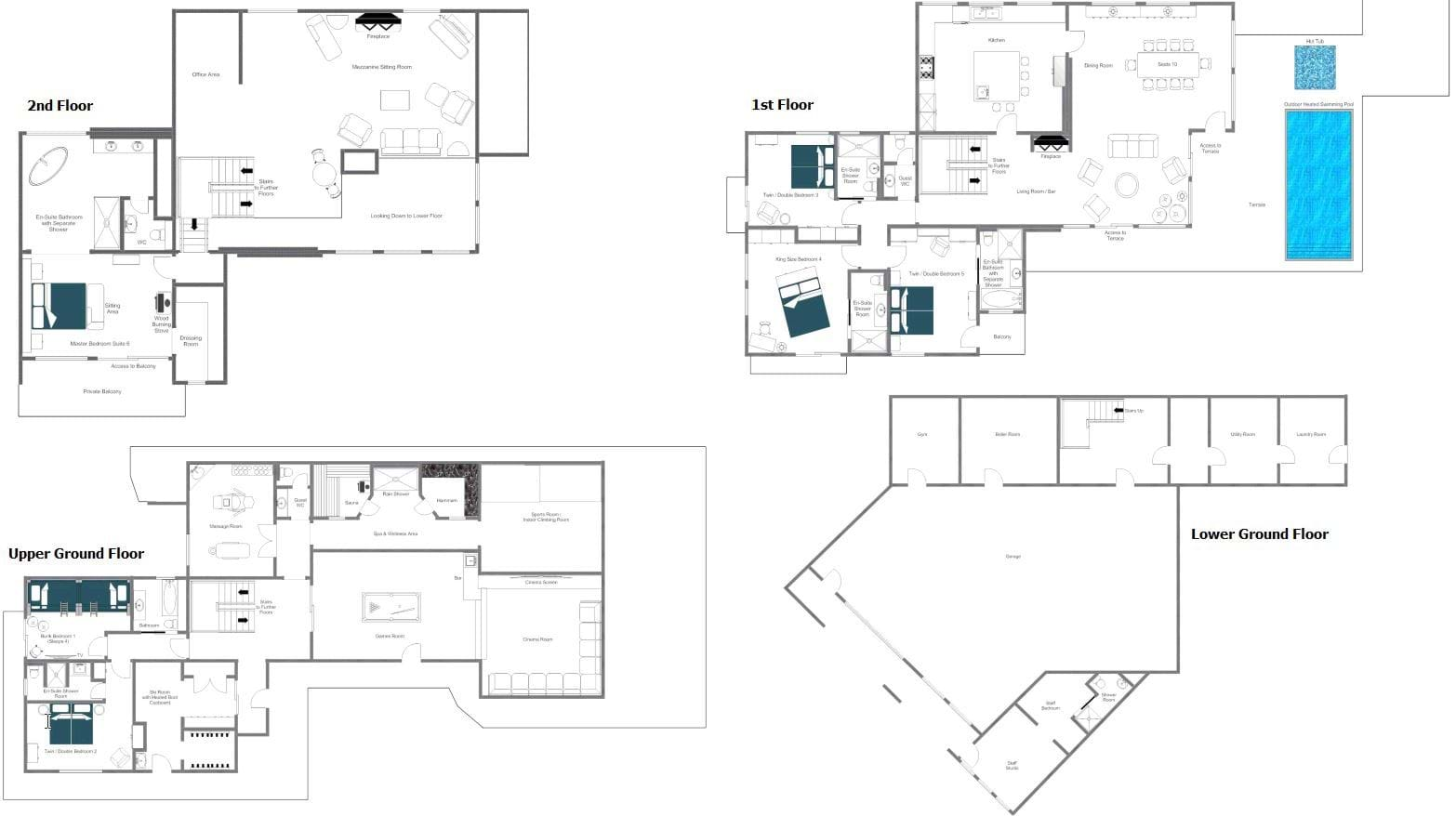 Photo Leave It To Beaver House Floor Plan Images