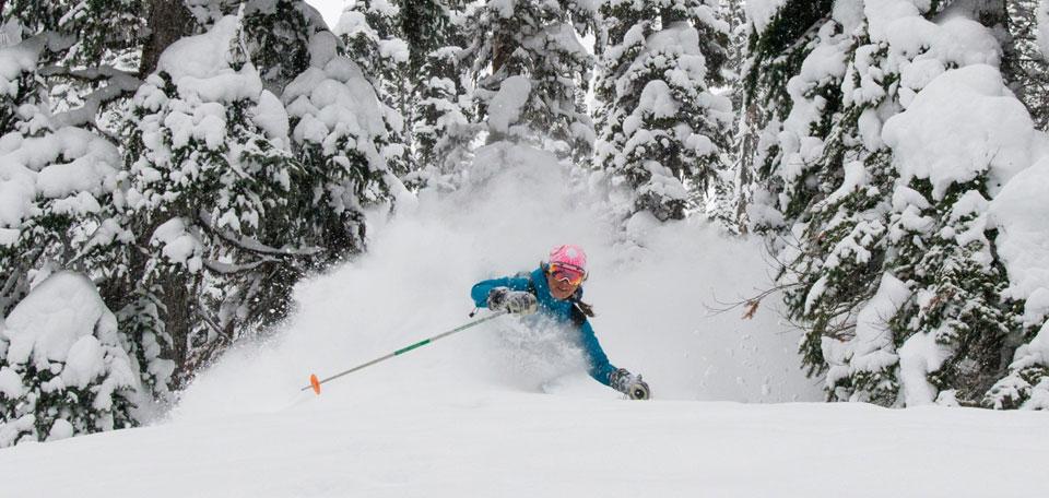 How To Ski Powder Snow Oxford Ski