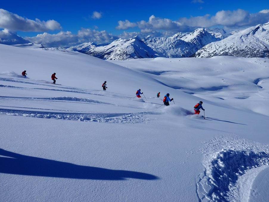 How To Ski Powder Snow - Oxfor...
