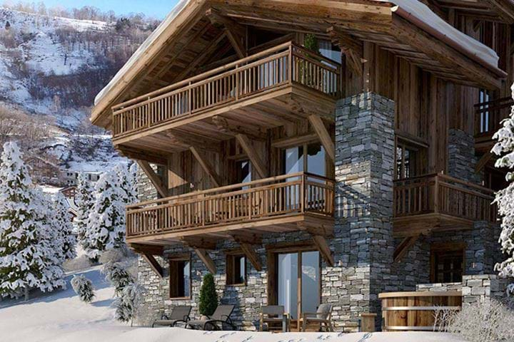 Chalet Pure Black Crystal
