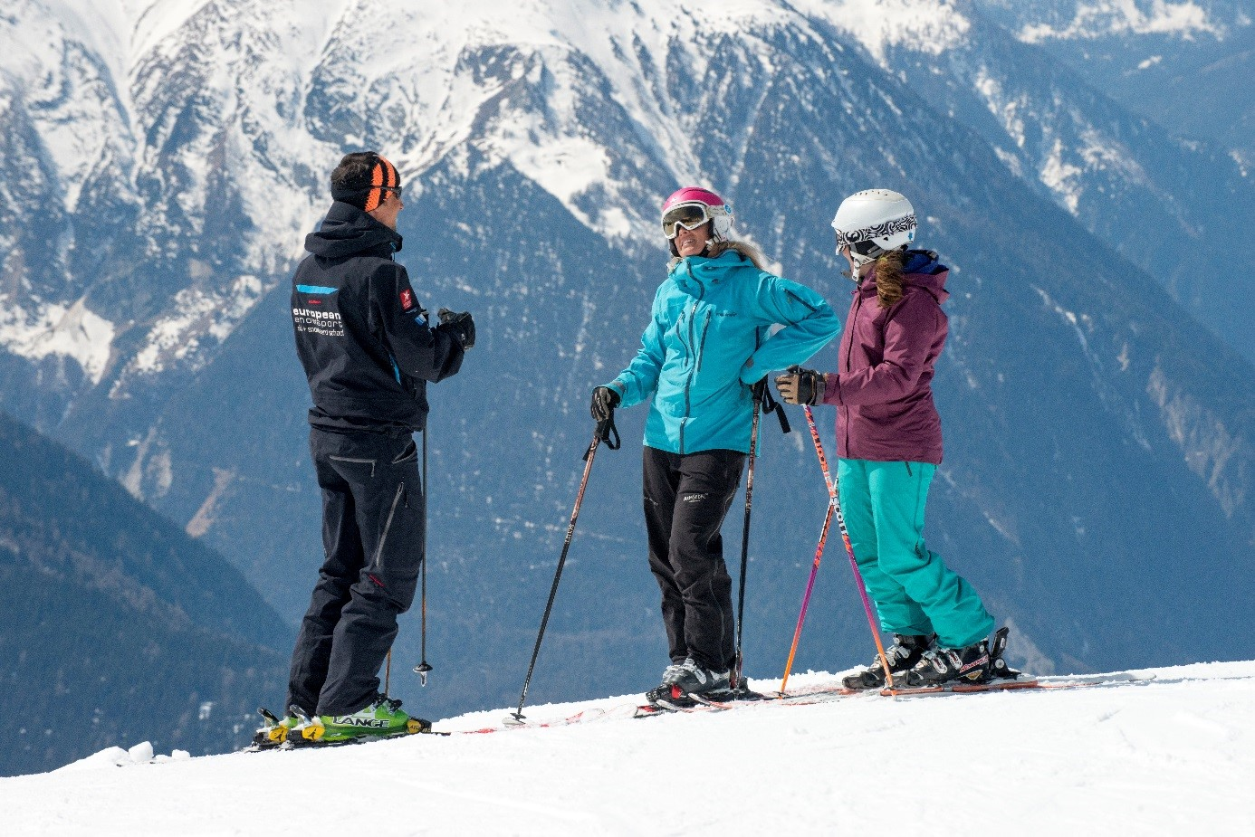 European Snowsport instructor