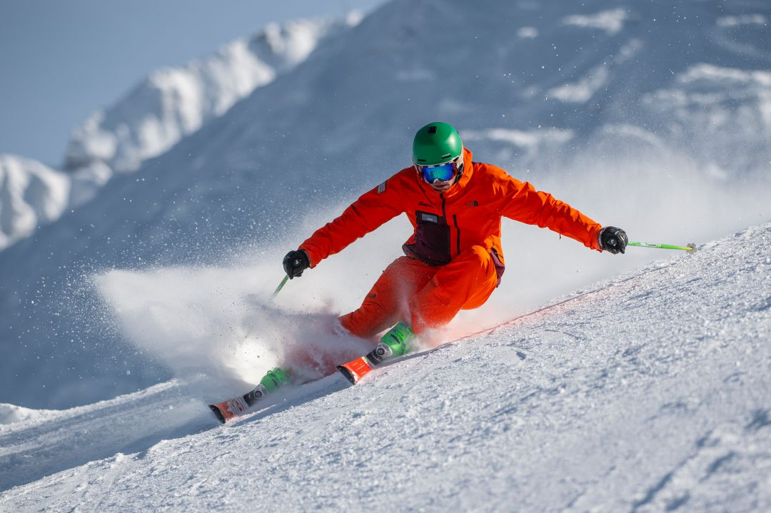 Learn to ski in st anton