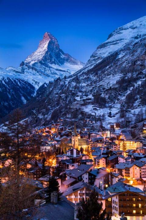 Luxury Ski Chalets and Hotels in Zermatt
