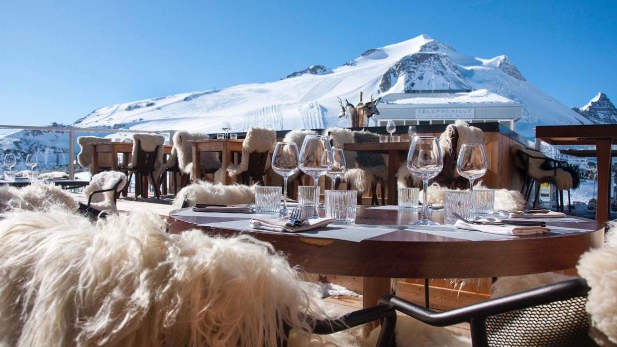 Top Ten Mountain Restaurants in the Alps